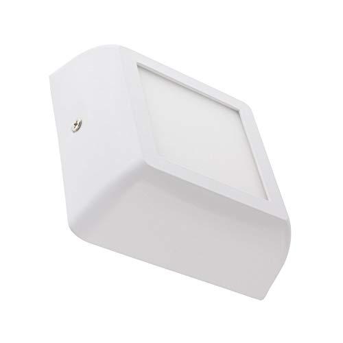 LEDKIA LIGHTING LED Deckenleuchte Eckiges Design 6W Weiß Kaltes Weiß 6000K - 6500K