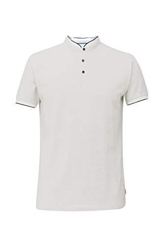 ESPRIT Piqué-Poloshirt mit Stehkragen