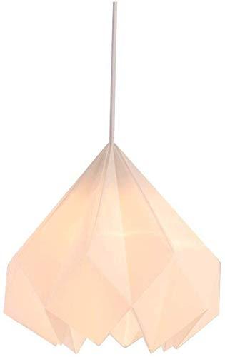 Lampadario in Stile Nordico Ristorante Studio Lamp Origami lampadario in Studio snowpuppe Castagno Acrilico LED