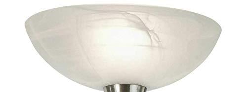 Ersatzglas MIKADO alabasterfarbig Ersatzschirm Fluter Pendelleuchte Lampenglas Lampschirm 30 cm