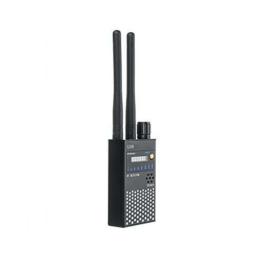 Detector GPS de mano Detector de señal de RF anti telefónimo RF Sweeper con antionserferencia más fuerte GSM GPS GPS Cámara anti espía Detecto Detecto Scanner Detección y seguimiento de dispositivos o