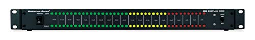 ADJ Products American Audio 19-inch All Metal mountable LED dB Level Display & amp Rack lightshow Display MKII
