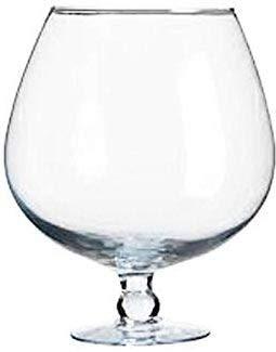 XXXL Copa de coñac el cristal claro gigantes copa de coñac vidrio transparente y soplado a boca, para decorar la altura aprox. 37 cm de contenido 11-12 litro, grande apertura ca. 17 cm litros de Oberstdorfer Glashütte