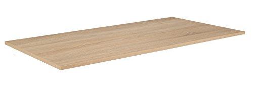 Phoenix 124239ES Regalboden, Holz, Eiche sägerau, 85.1x35x1.5 cm