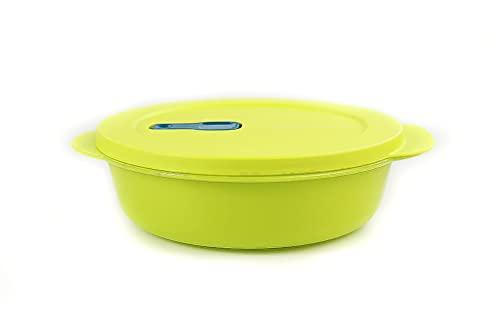 TUPPERWARE CrystalWave Rotondo bowl 1,0 L verde