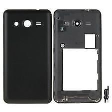 Just Mobile Full Body Housing Panel for Samsung Galaxy Core 2 G355h-BLACK