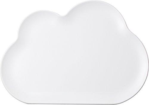 Petit plateau Cloud tray Blanc - Qualy
