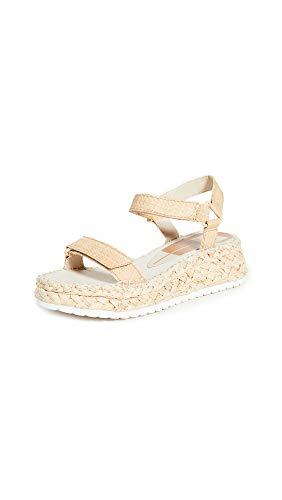 Dolce Vita Women's Myra Sandals, Light Natural, Tan, 11 Medium US