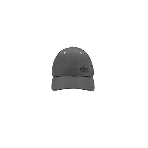 Alpha Industries Unisex Cap Small Logo Flight, Größe:one Size, Farbe:rep.Grey
