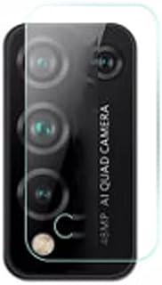 لهاتف هواوي هونر 10 اكس لايت لاصقه حمايه لعدسه الكاميرا من الزجاج المرن بتكنولوجيا النانو شفاف ضد الصدمات