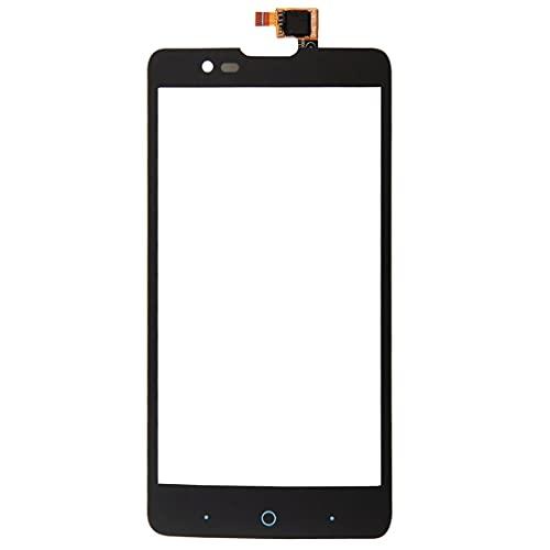 Piezas de repuesto para teléfonos móviles, conjunto completo de LCD, pantalla táctil completa de repuesto, compatible con zte Red Bull V5, panel táctil de 5.0 pulgadas (negro) (color: negro)