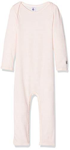 Petit Bateau Unisex Baby ML_5067901 Formender Body, Mehrfarbig (Charme/Marshmallow 01), 62 (Herstellergröße: 3M/60cm)