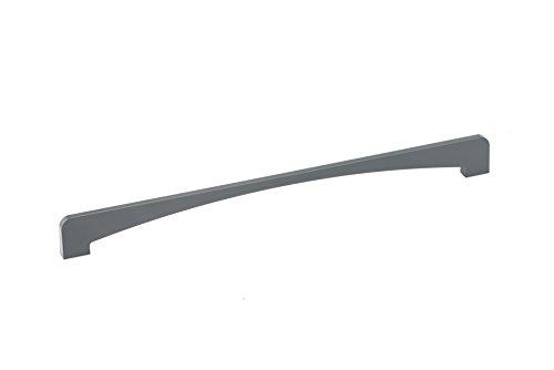Richelieu Hardware - BP7778352100 - Contemporary Metal Pull - 7778 - 352 mm - Grey Finish