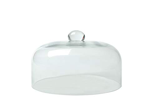 HENDI Glazen stolp - ø245x(H)150 mm