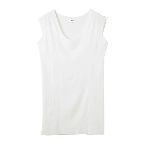 [グンゼ] インナーシャツ YG Tシャツ専用 in.T(インティ―) CUT OFFシリーズ クルーネックスリーブレス 汗取...