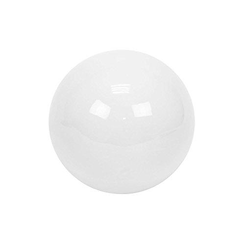 Polnix Boule, Bille, Balle, Globe Decorative en ceramique Blanc, 13 cm