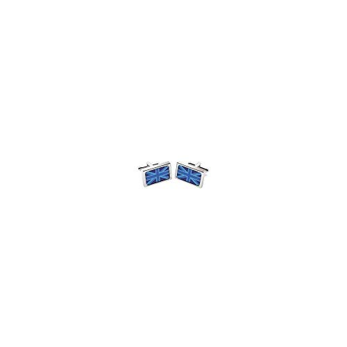Sonia Spencer - Boutons De Manchette, Blue Union Jack, GB Collection