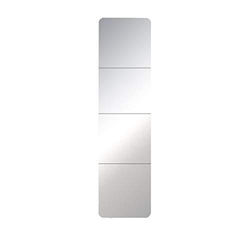 Kapperszaak mirror Decoratieve spiegel, Modern Stacaravan Badkamer Woonkamer Gang Slaapkamer Closet wandkleed Wave DIY Mirror tegeldecoratie Kapsalon kapperszaak spiegel (Size : 15.7in)