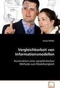 Pfeiffer Daniel: Vergleichbarkeit von Informationsmodellen