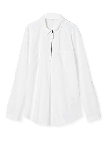edc by Esprit 030CC1F323 Camicia da Donna, 100/bianco, M