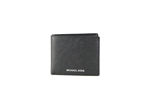 Michael Kors Men's Harrison Slim Billfold Wallet Leather No Box Included