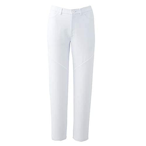 [ワコール] スクラブパンツ スリム ストレートパンツ白衣 医療 メディカル 介護 看護 ボトムス カラバリ豊富 吸汗速乾 HI301 レディース ホワイト 3L (日本サイズ3L相当)