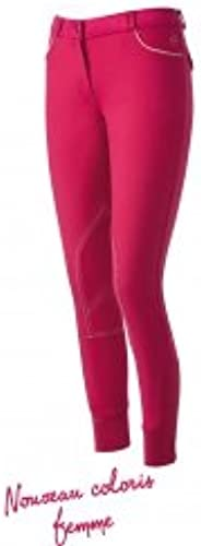 EQUITHEME Pantalon Verona - Femme - Couleurs - Framboise, Taille Culottes - 38