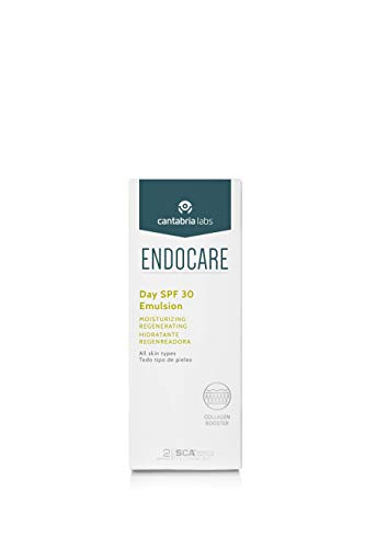 Endocare Essential Day SPF30 - Crema Hidratante, Antioxidante, Regeneradora para Primeras Arrugas, Textura Ligera, con Protección Solar, Todo Tipo de Pieles, 40ml