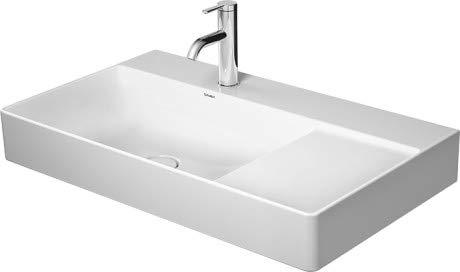 Duravit Waschtisch DuraSquare 800m Weiß, v, Becken l, WG, 23488000791