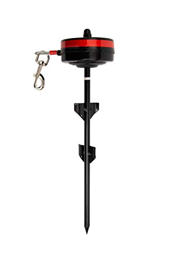 Lixit Retractable Cable Tie Out for Dogs (Large: 80-120 Pounds)