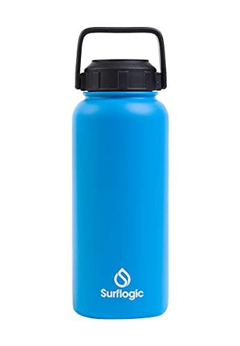 Surf Logic Botella de 950 ml, color azul.
