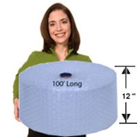 EcoBox 48-Inch x 100-Feet Biodegradable Bubble Roll with 3/16-Inch Small Bubbles (V-10018) Photo #2