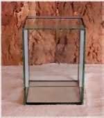 Terrarium mit Falltür 20x20x30 cm