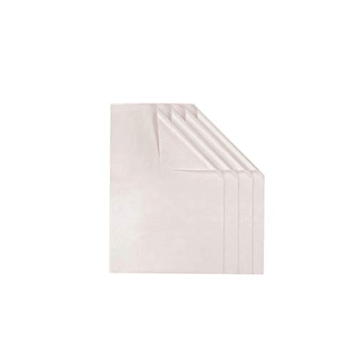 PTFE Teflon Sheet for Heat Press 4 Pack,16' x 24' Non Stick Heat Resistant Craft Mat,Heat Transfer Teflon Paper Sheet for Baking/BBQ/Grill Mats,White