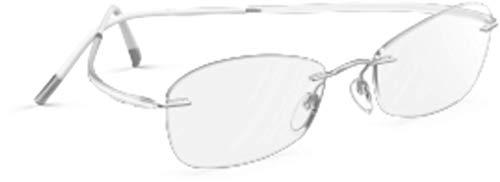 Eyeglasses Silhouette Essence (5523) 7000 Silky White 52/17/145 3 piece frame