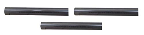well2wellness® PVC Rohr 50mm PVC Druckrohr 50mm 10 bar - 3 x 1 Meter