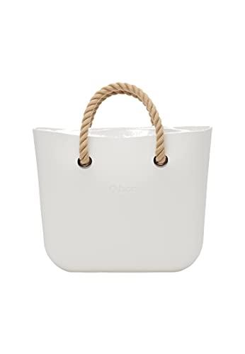 O bag, Borsa Donna, Latte, Unica