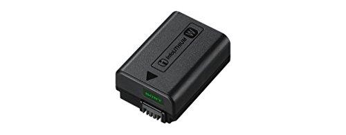 Sony NP-FW50 W-Serie Lithium Akku passend für Alpha und NEX Kameras, schwarz & PCKLM17.SYH Displayschutz für Alpha 6000 Systemkamera (7,6 cm (3 Zoll) Display)