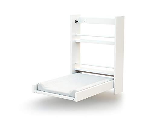 Ateliers T 4 Iberica 33238001 - Cambiador de pared plegable, color blanco