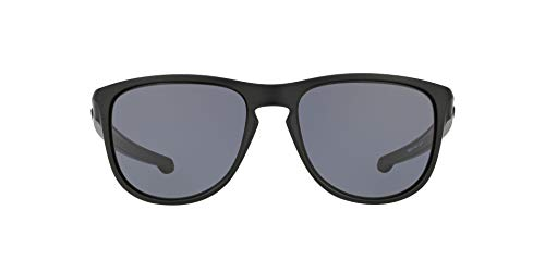 Oakley Herren Sonnenbrille SLIVER R, Blau (Matte Black), 57.0