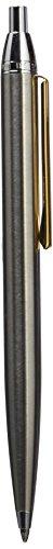 Inoxcrom City - Bolígrafo de punta redonda, color plateado/dorado