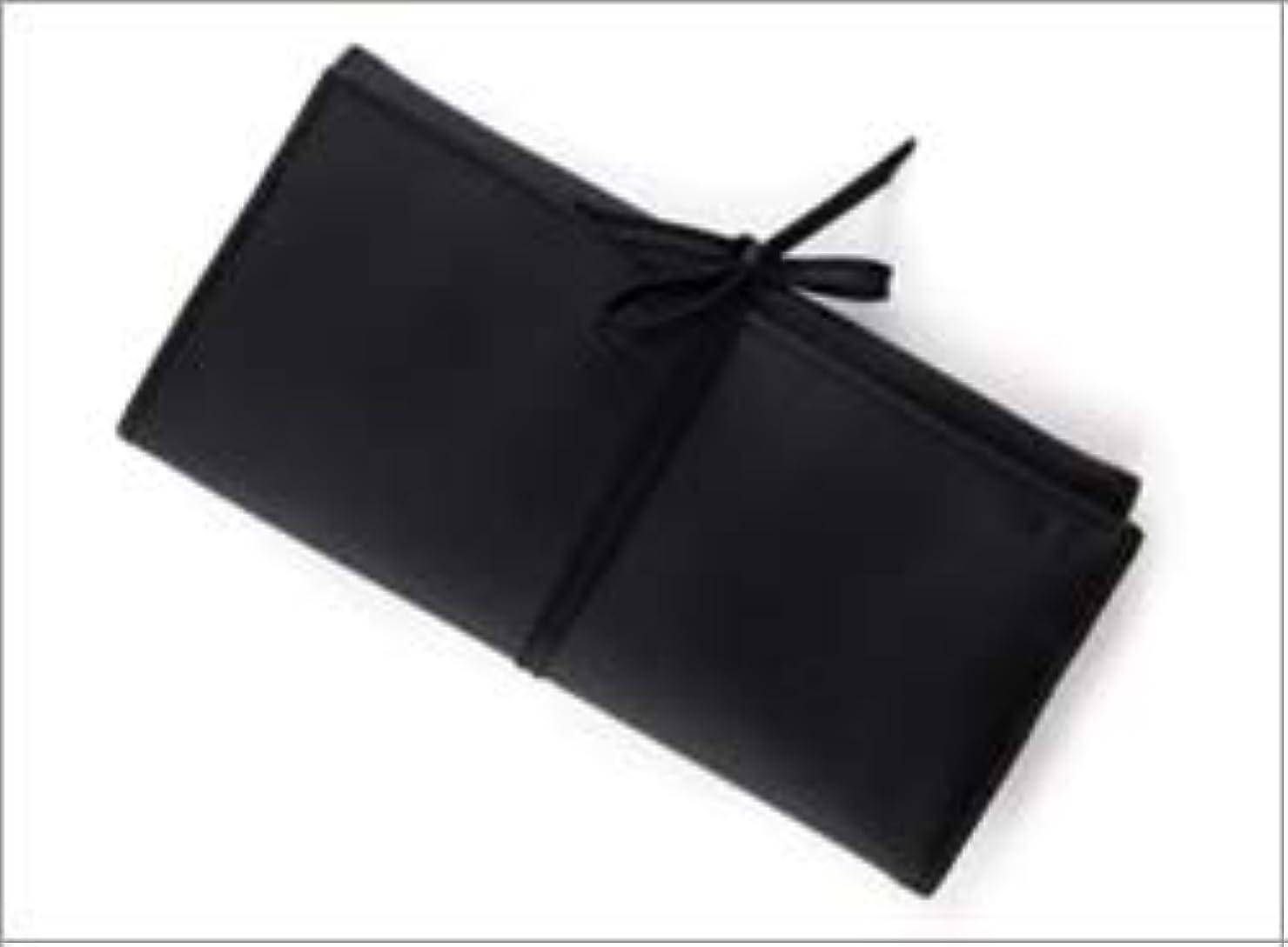 流産平らな思い出させる熊野筆 竹宝堂 正規品 ブラシケース(化粧ポーチ) C-24 材質:ナイロン(三つ折り) 広島 化粧筆