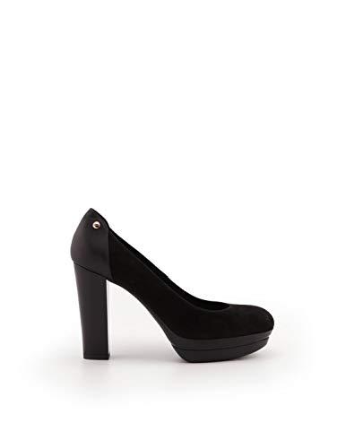 Hogan Luxury Fashion Damen HXW3130Z050H8DB999 Schwarz Wildleder Pumps | Jahreszeit Permanent