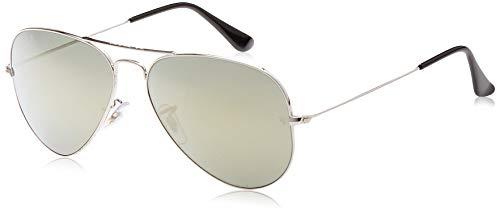 Ray-Ban 0RB3025 003/59 58 Gafas de sol, Silver, Unisex