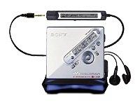 Sony MZ-N710/S MP3 - Plata MiniDisc-VHS