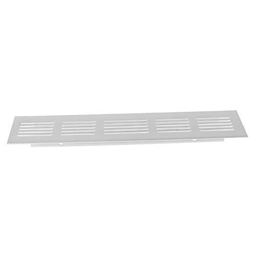 Shuxiang-rejilla de ventilación 15 cm, 20 cm, 25 cm, 30 cm, 40 cm, 50 cm de aleación de aluminio de la salida de aire, chapa perforada Placa Web Rejilla de ventilación Accesorios de ventilacion