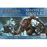 North Star Military Figures Frostgrave Gnolls Plastic Figures 20 Beasts Rats hybrids