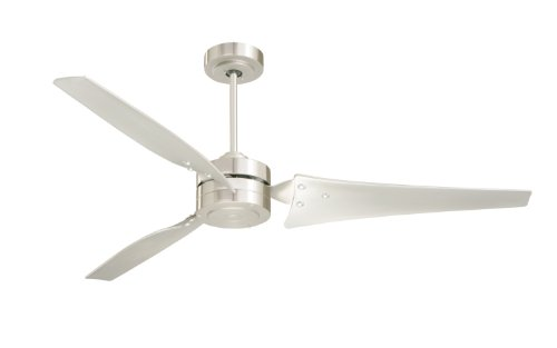Emerson CF765BS Ceiling Fan with 4 Speed Wall Control and 60-Inch Blades, Brushed Steel Finish