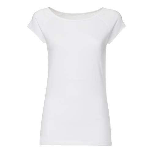 FellHerz Damen T-Shirt weiß, Bio & Fair aus 100% Bio-Baumwolle und unter fairen Bedingungen hergestellt, nachhaltig, vegan, ökologisch, alternativ (S)