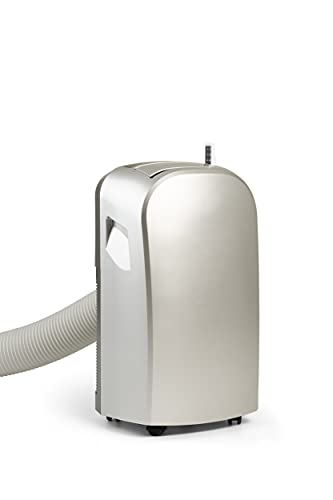 Climia CMK 2950 mobiles Klimagerät mit umweltfreundlichem Kältemittel R290, 3-in-1 Klimaanlage – Aircondition, Ventilator und Luftentfeuchter, EEK: A (Silver Grey)